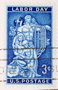 1956 US Labor Day Stamp