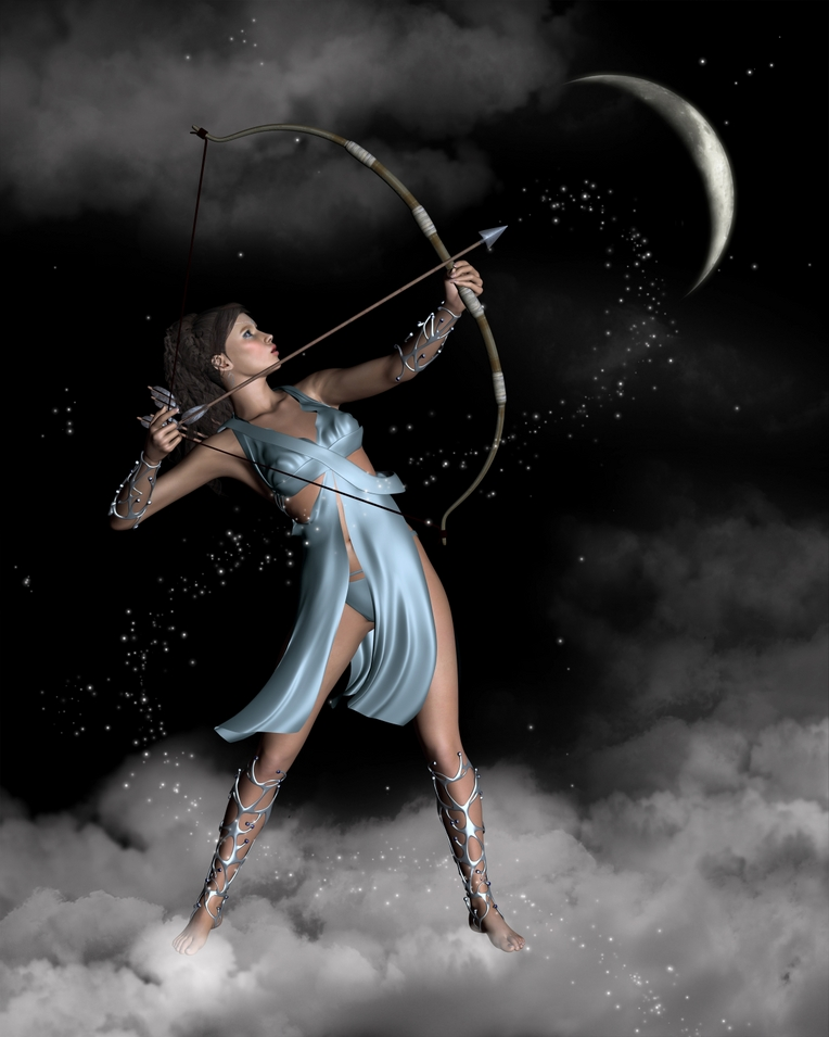 artemis the goddess of the moon Artemis is the four thousand six hundred and twelve year old greek virgin goddess of the hunt, the moon, chastity, childbirth, wild animals, and the wilderness artemis is one of the most respected of all the ancient greek deities she and her twin brother apollo are known as the twin archers.