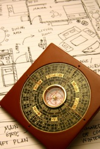 Feng Shui Compass & Floor Plan