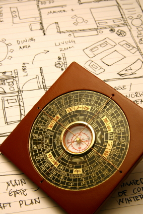 Feng Shui Compass & Floor Plan